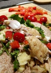 whitefish burrito prep